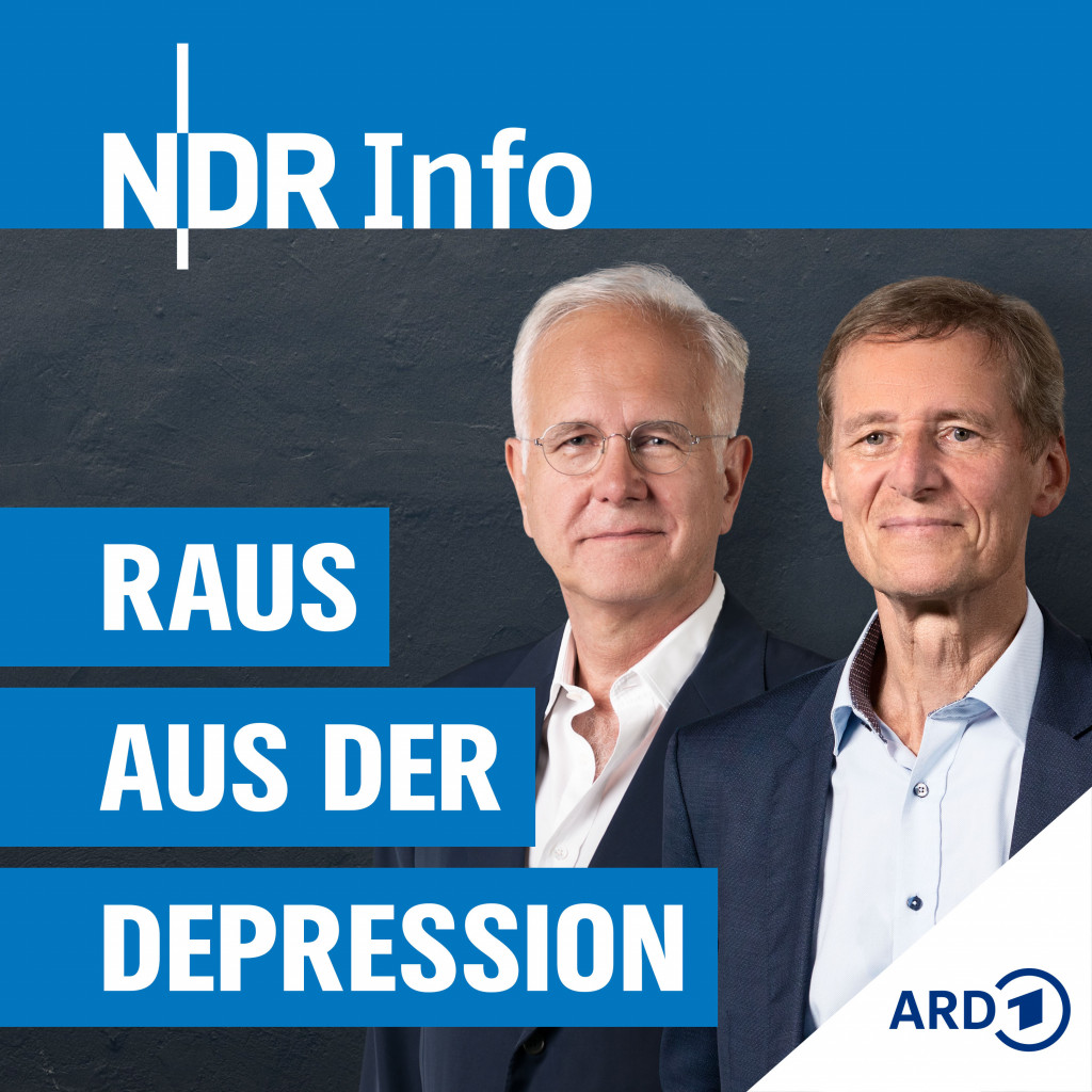 Podcastcover bzw. Foto Harald Schmidt & Prof. Ulrich Hegerl: © NDR Foto: Foto Harald Schmidt: Marcus Simaitis / Foto Prof. Ulrich Hegerl: Martin Jehnichen