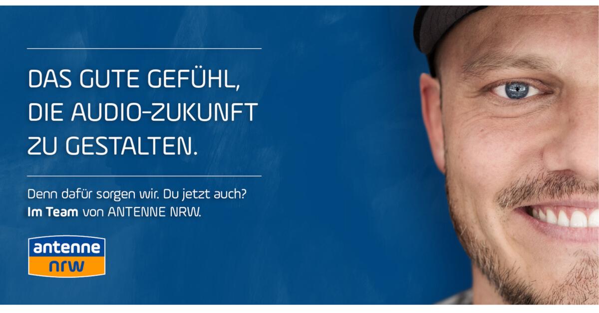 ANTENNE NRW sucht NRW-Reporter*in (w/m/d)