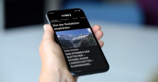 Die SWR2 App. (Bild: ©SWR/Patricia Neligan)