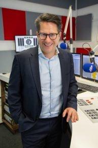 Till Coenen im Radio Arabella-Studio