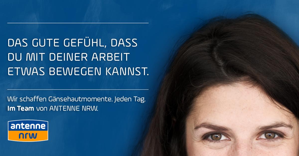 ANTENNE NRW sucht Volontär*in mit dem Schwerpunkt Infotainment