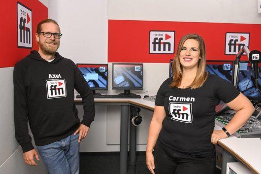 Carmen und Axel (Bild: radio ffn)