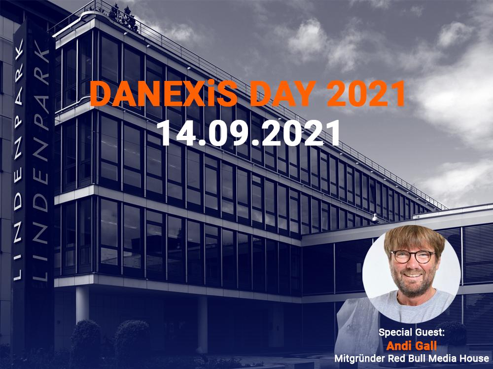 DANEXiS DAY 2021 am 14. September im Medienforum Bern