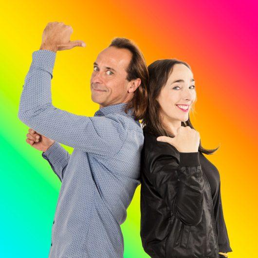 Markus Kühn und Mona Rübsamen (Bild: ©FluxFM)