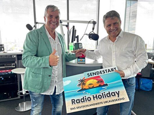 Bernd Roller und Stephan Schwenk (Bild: ©The Radio Group)