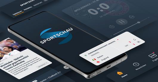 Neue Sportschau-App (Bild: ©WDR)