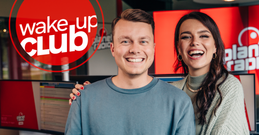 Wake-up-Club-mit Johan Kurzenberg und Sarah Hautsch