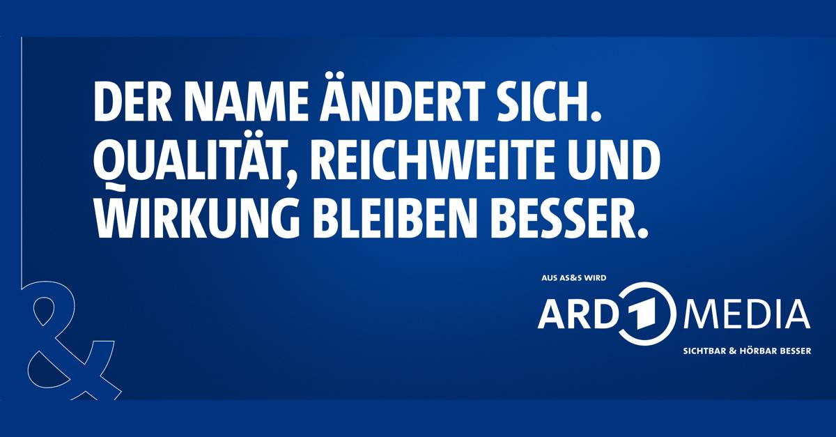 AS&S wird ARD MEDIA