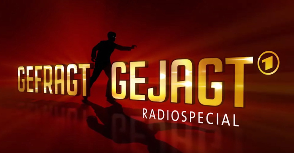 """""""Gefragt - Gejagt"""": Jagdruf zur Radiowoche im Ersten"""