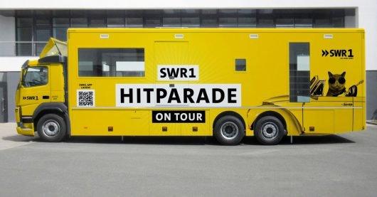 SWR1 Hitcat-Bus (Bild: SWR/SWR1)
