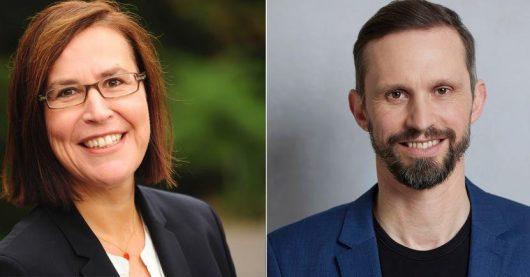 Stephanie Weber und Florian Hager. (Bild: ©HR/SR/ARD/Laurence Chaperon)